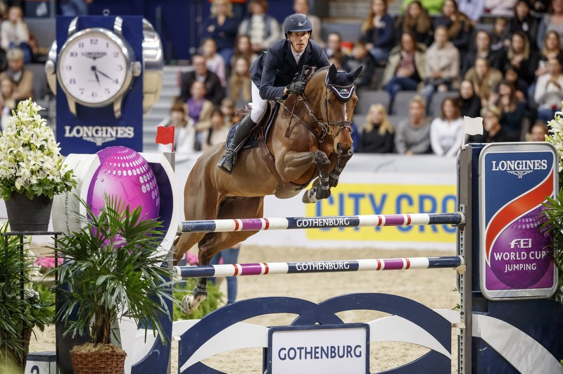 Von Eckermann wins home FEI World Cup Jumping stage in Gothenburg