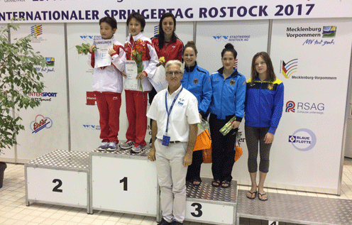 Chinese divers won all four individual titles on offer ©FINA