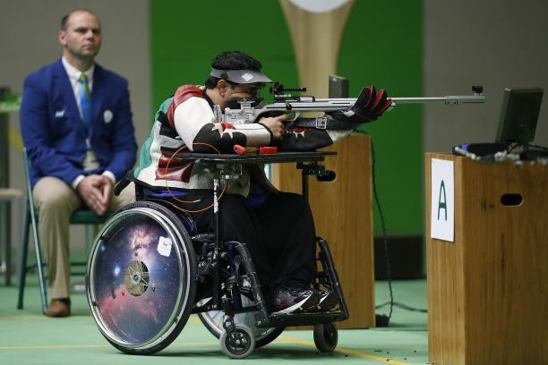 Abdulla Sultan Alaryani claimed his first win of the season on home soil today ©IPC