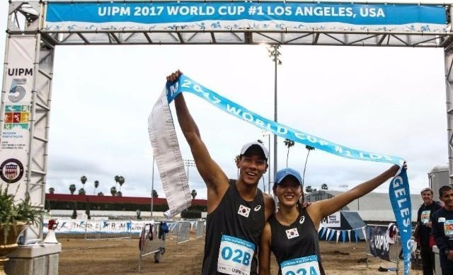 South Korean duo take mixed relay crown at UIPM World Cup in Los Angeles