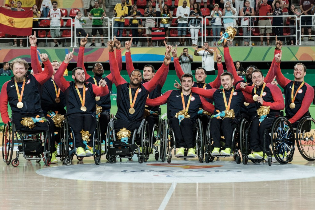 America won Paralympic gold medals in the men's and women's wheelchair basketball competitions at Rio 2016 ©Getty Images