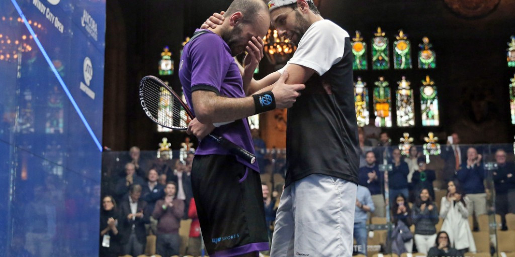 Marwan Elshorbagy defeats brother to reach semi-finals of PSA Windy City Open