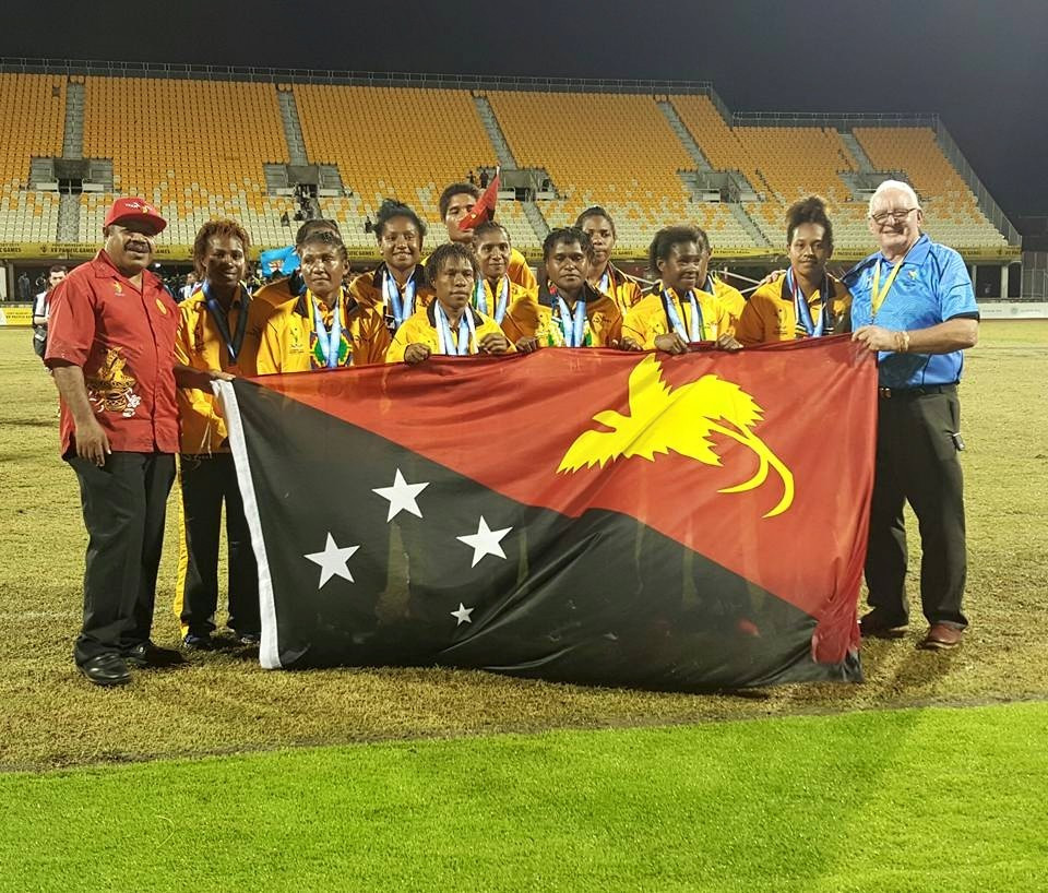 Papua New Guinea's women's side finished their campaign on a high by beating New Caledonia to bronze