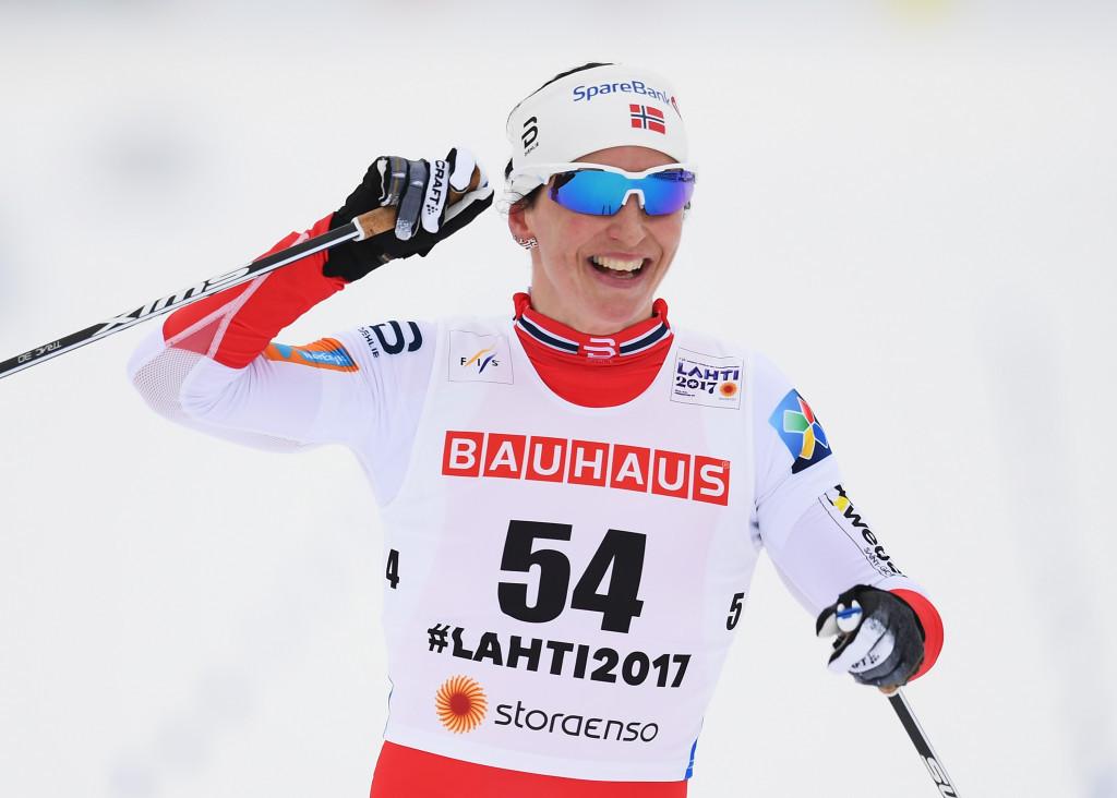 Bjørgen claims second gold medal at Nordic Ski World Championships