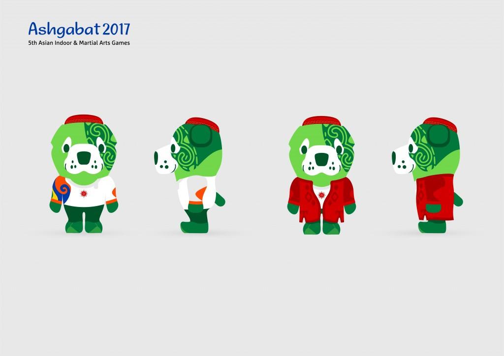 Wepaly is the official Ashgabat 2017 mascot ©Ashgabat 2017