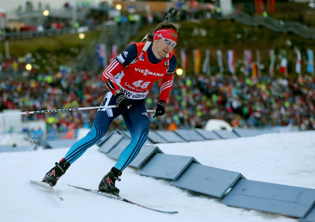Russian biathlete Timofey Lapshin has become the latest competitor to become a naturalised South Korean ©Getty Images