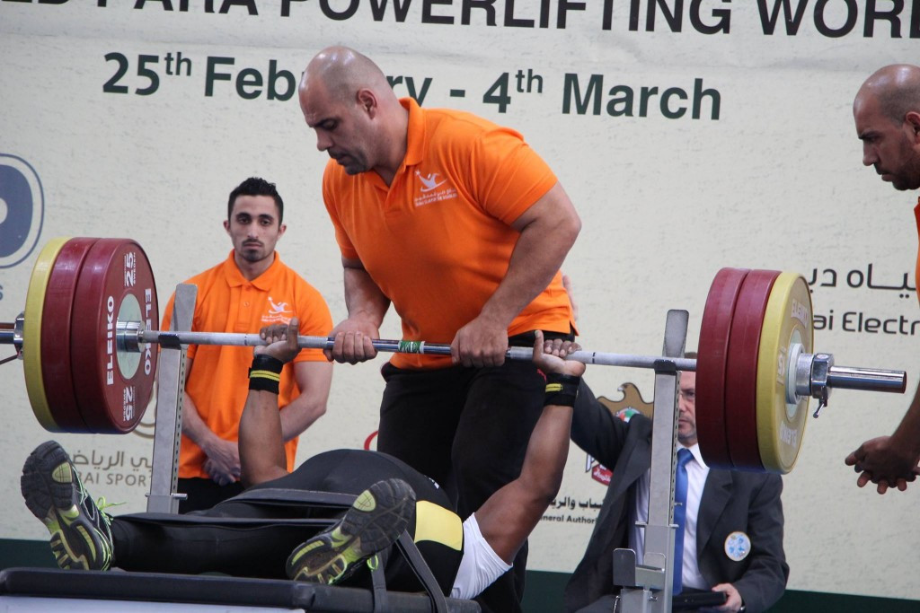 Action continued today at the IPC Powerlifting World Cup in Dubai ©Dubai Club for the Disabled.