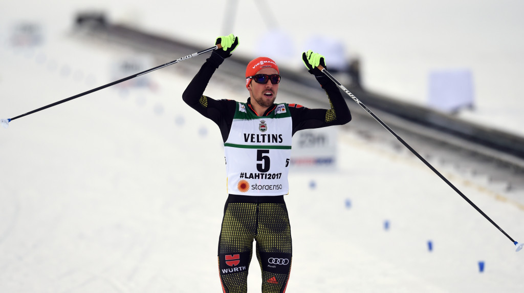 Rydzek completes golden hat-trick at 2017 FIS Nordic Ski World Championships