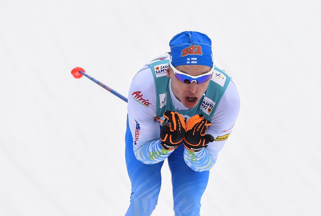 Finland's Iivo Niskanen won the men's 15km cross-country classic event ©Getty Images