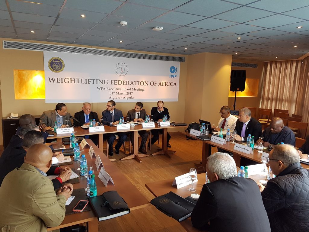 Key decisions were made at the Weightlifting Federation of Africa Electoral Congress ©WFA