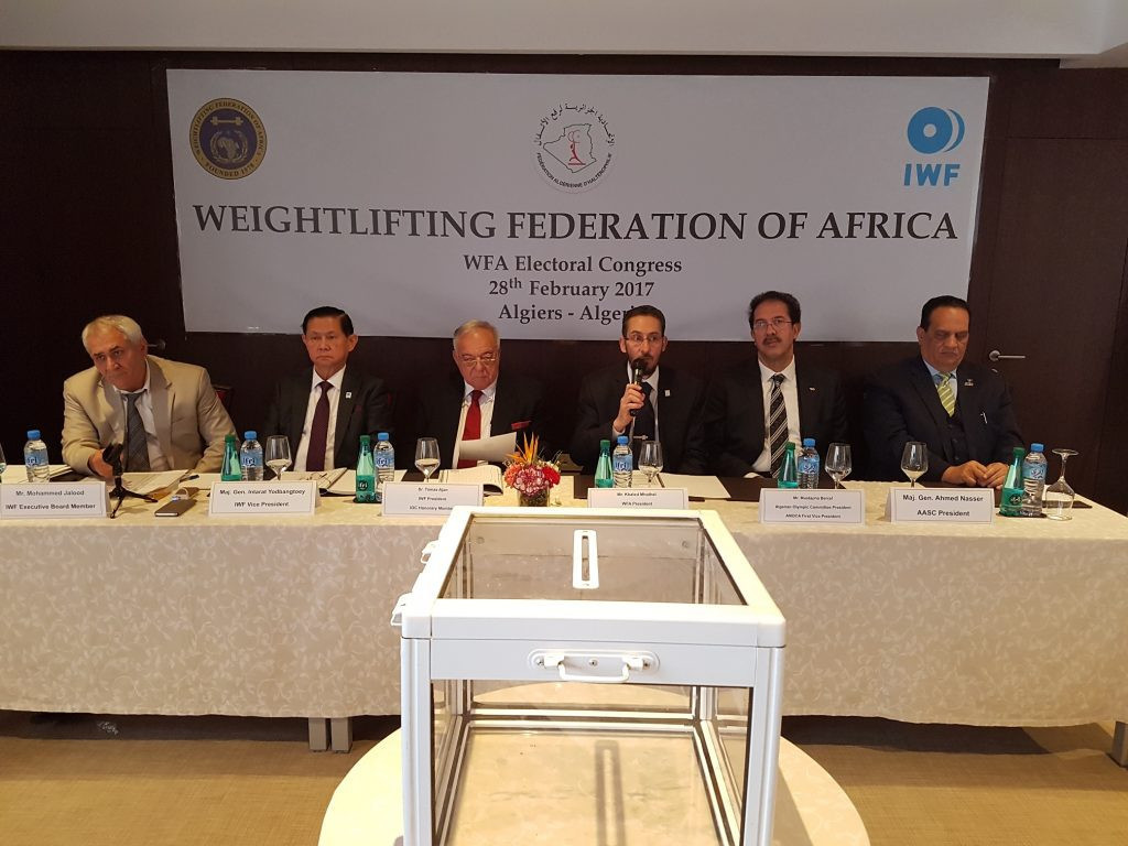 Khaled Mhalhel was re-elected as President ©WFA
