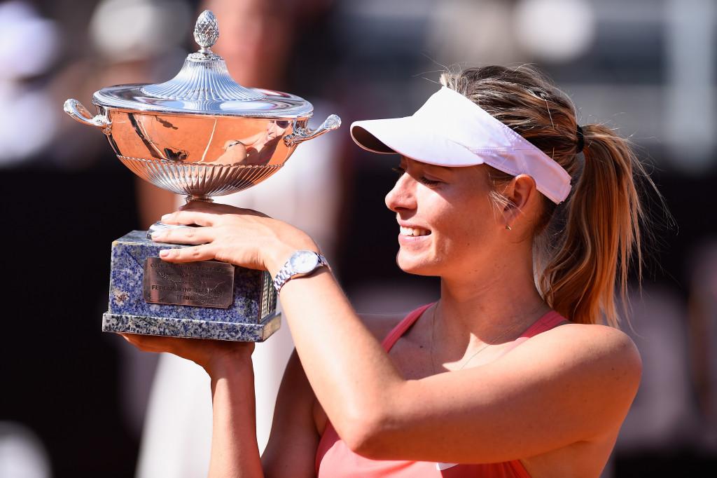 Maria Sharapova has won the Internazionali BNL d'Italia on three occasions ©Getty Images