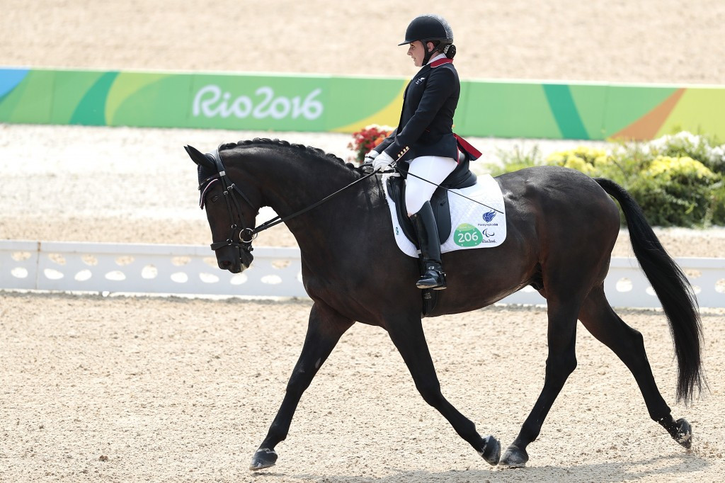 Horse of British Paralympic gold medallist Baker dies