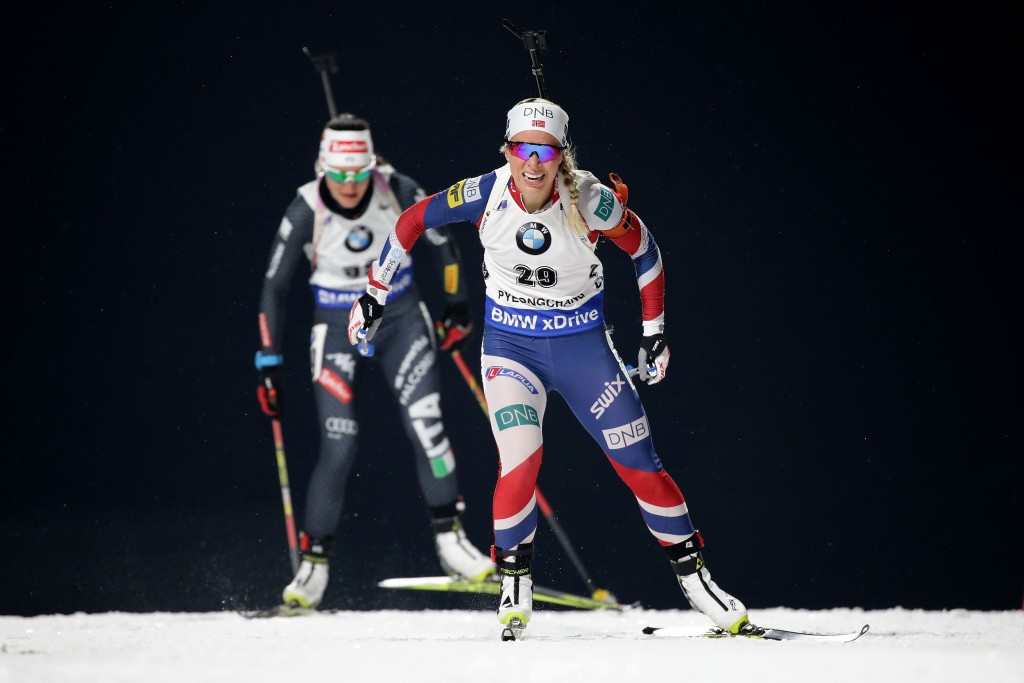 Tiril Eckhoff of Norway finished in second place ©Getty Images