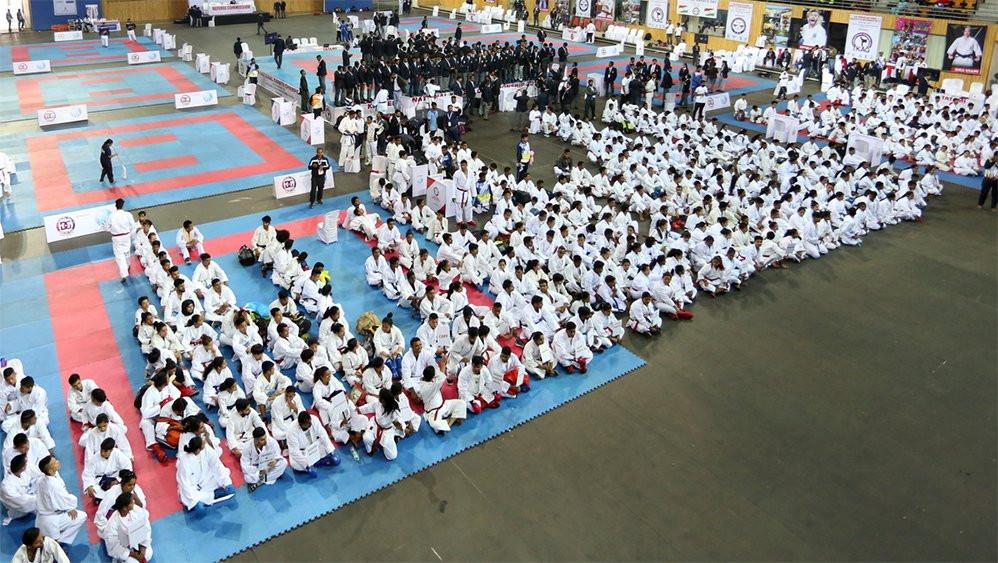 Indian karatekas gather for day of activities
