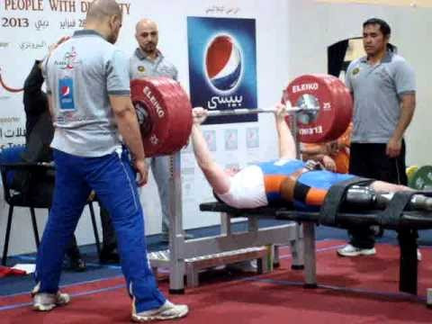 Dankers claims first Powerlifting World Cup gold in Dubai