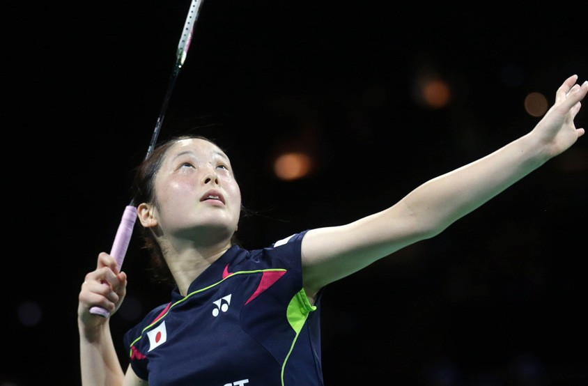 Japan's Mitani shocks third seed at BWF German Open