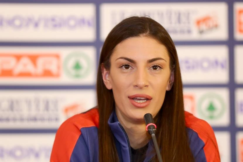 Spanovic smiles at pressure as Serbia prepare for European Athletics Indoor Championships