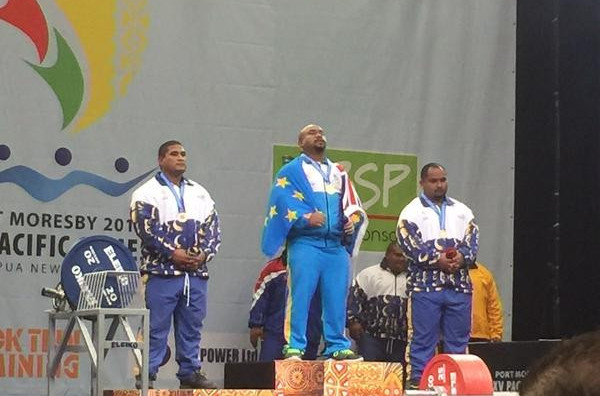 Tuvalu claim first-ever Pacific Games gold medal as Samoa and Nauru share Port Moresby 2015 powerlifting spoils