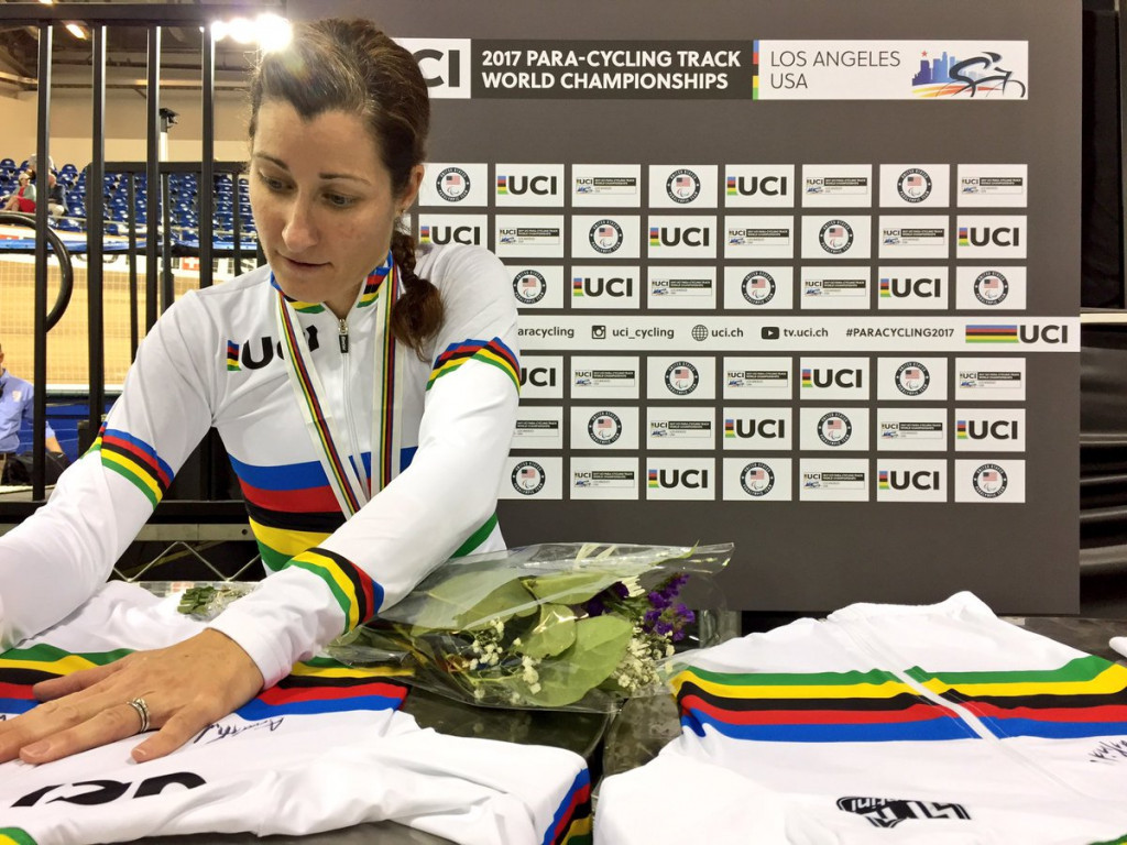 Whitmore and Berenyi enjoy home wins at UCI Para-Cycling Track World Championships