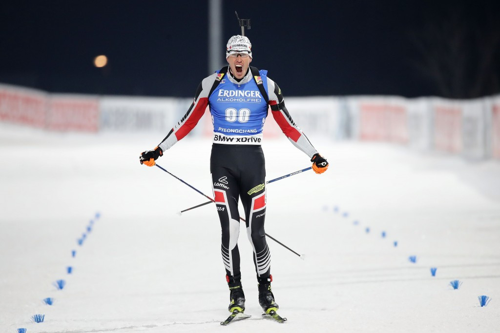 Austria's Julian Eberhard won today's race ©Getty Images