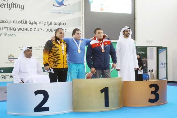 Ukraine and Jordan win golds on Dubai Powerlifting World Cup final day