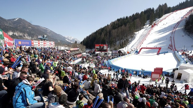 Men are due to compete in the Slovenian resort of Kranjska Gora ©FIS