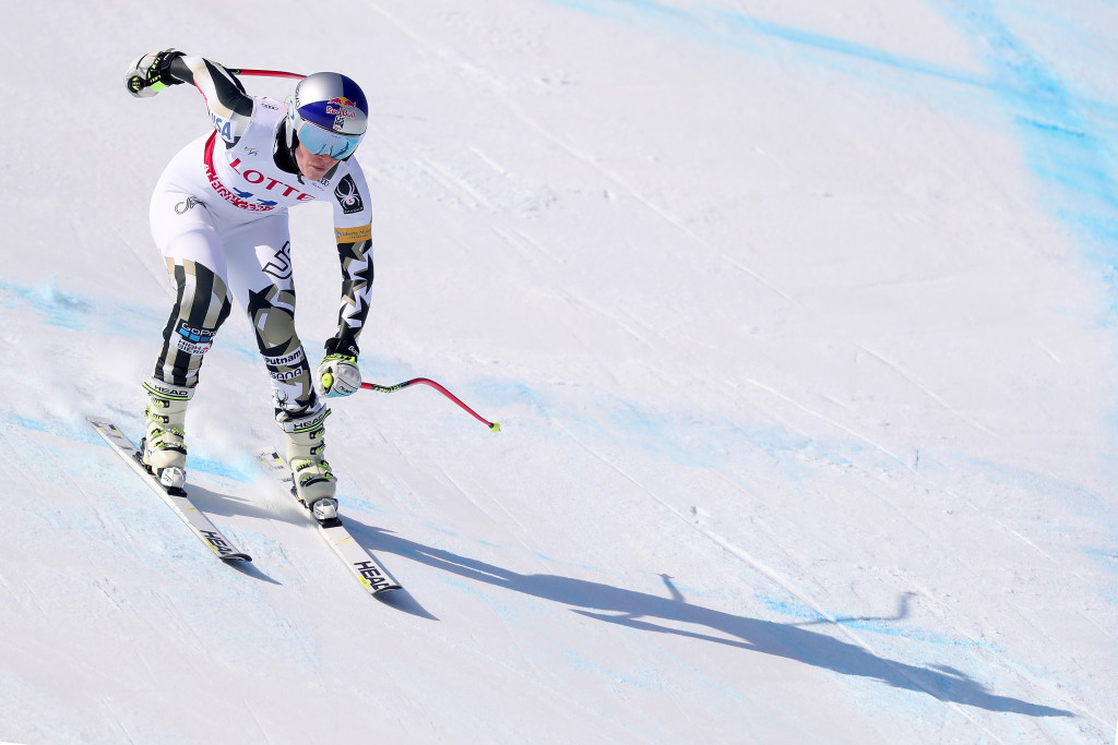 Vonn praises Jeongseon Olympic course after World Cup training