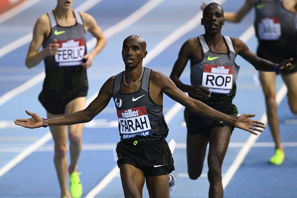 USADA bosses have apparently asked for drug test samples from Sir Mo Farah to be given to them for re-testing ©Getty Images