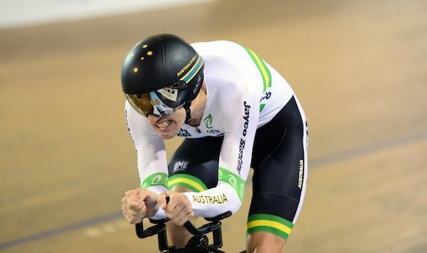 Nicholas leads Australian treble at UCI Para-Cycling Track World Championships