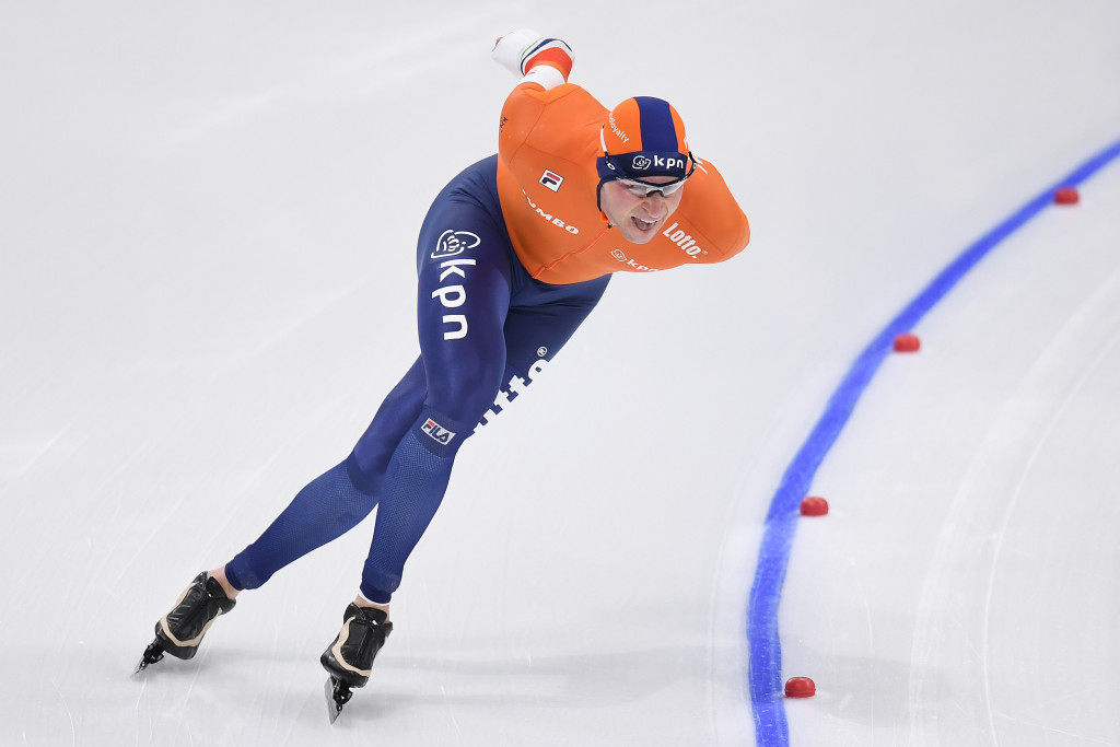 Kramer and Takagi lead after first day at ISU World Allround Speed Skating Championships
