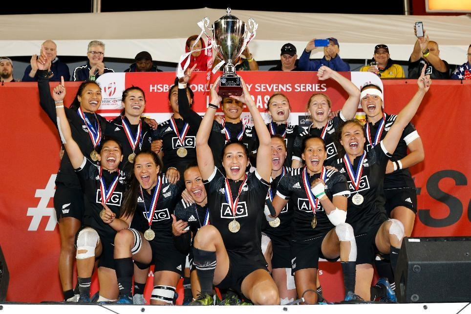 New Zealand beat Australia to win Women's World Rugby Sevens Series event in Las Vegas