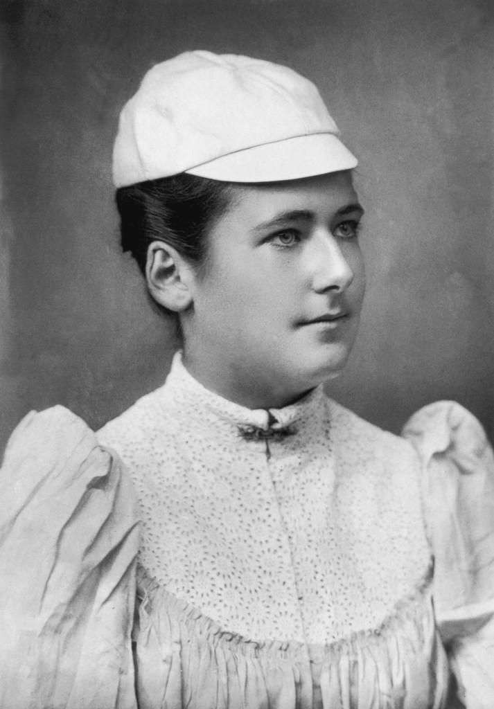 Lottie Dod was an early pioneer of women's tennis ©Getty Images