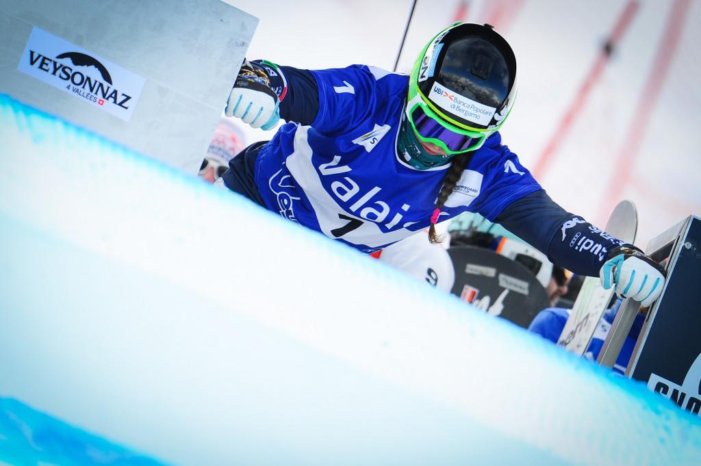Italy's Moioli triumphs at FIS Snowboard Cross World Cup in La Molina