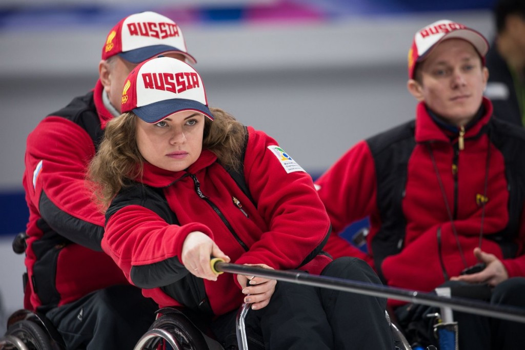 Russia remain unbeaten at World Wheelchair Curling Championships