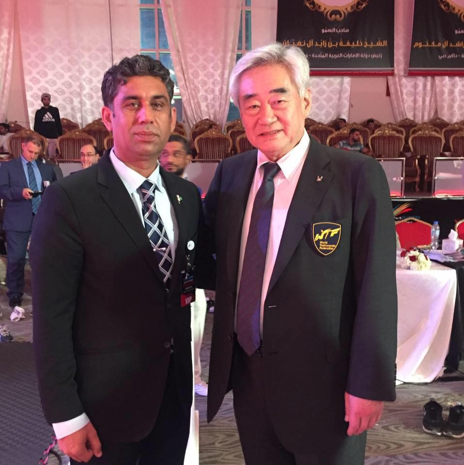 Pakistan Taekwondo Federation President announces candidacy for WTF Council