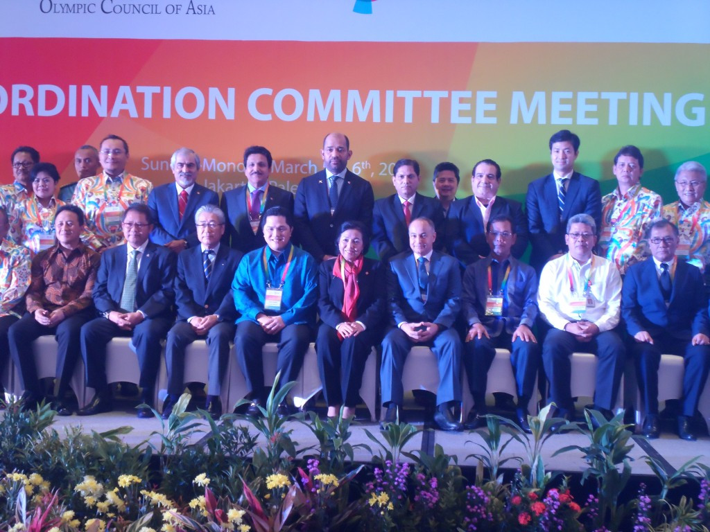The Jakarta 2018 Asian Games are set to feature 42 sports, it was confirmed at the sixth meeting of the OCA Coordination Committee today ©OCA