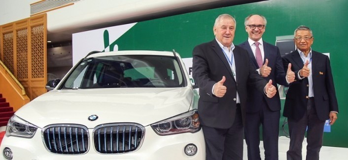 Beijing leg of FINA Diving World Series agrees sponsorship deal with BMW