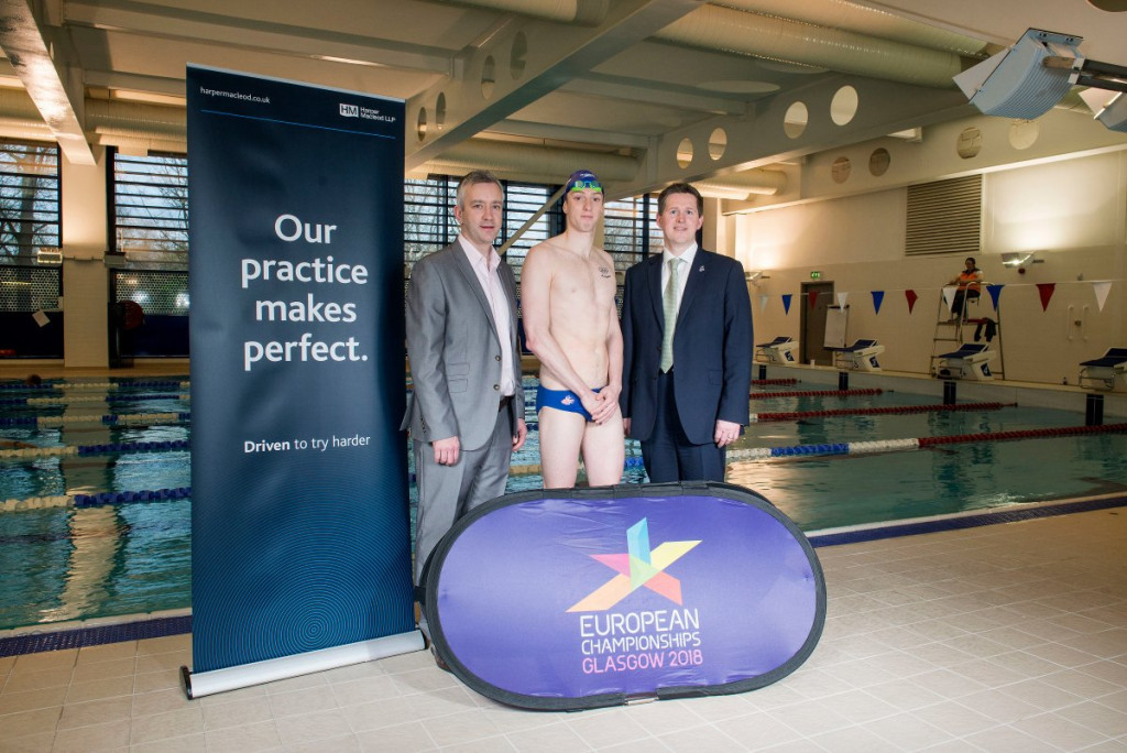 Glasgow 2018 appoints Harper Macleod as legal adviser to European Championships