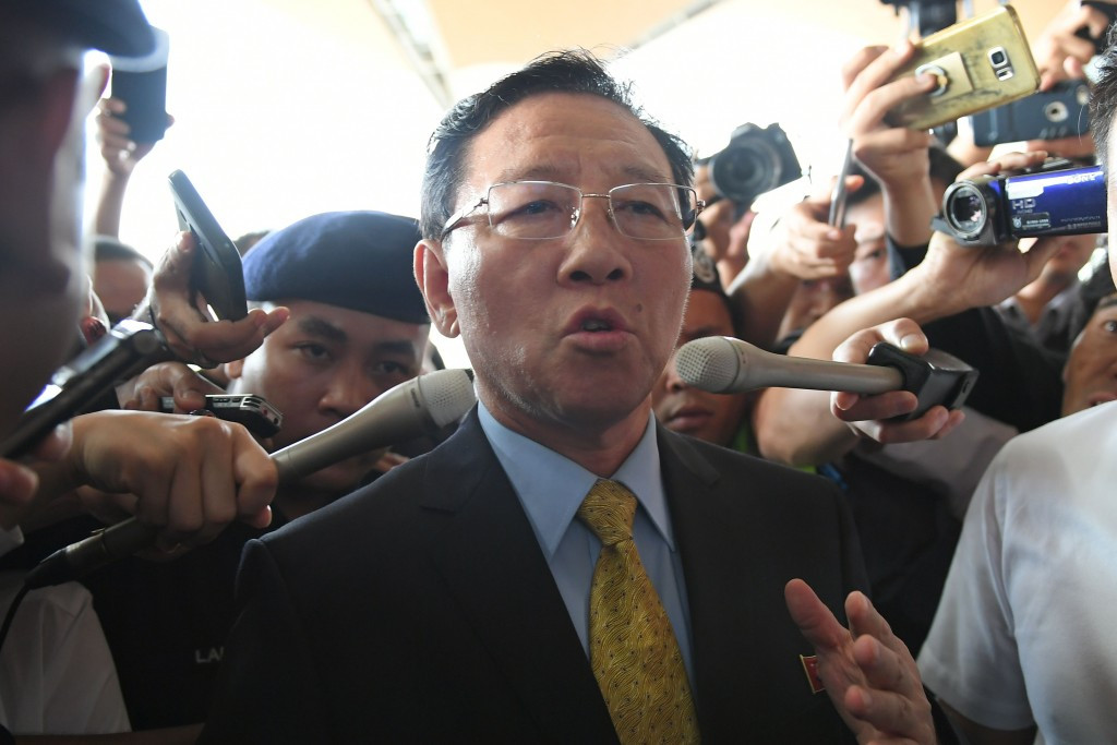 Kang Chol was expelled from Malaysia amid deepening tension with North Korea ©Getty Images