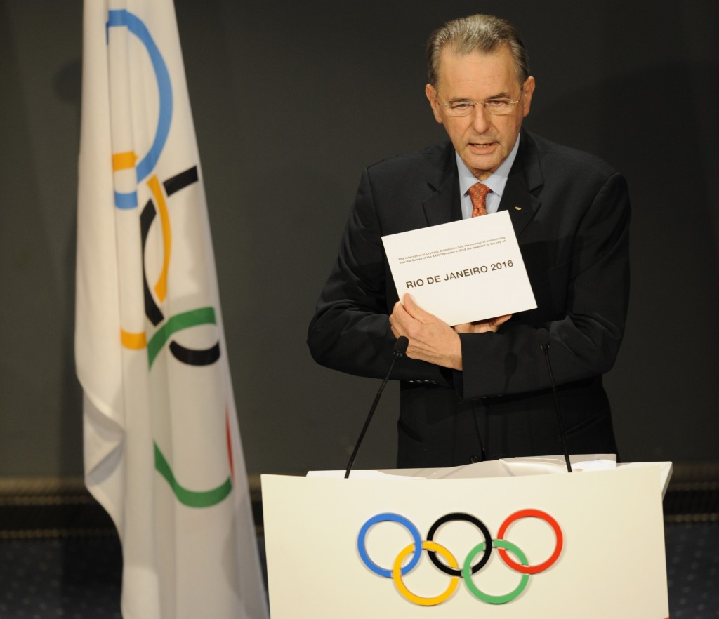 Thomas Bach's predecessor Jacques Rogge awarded Rio de Janeiro the 2016 Olympics over Tokyo, Madrid and Chicago in 2009 ©Getty Images