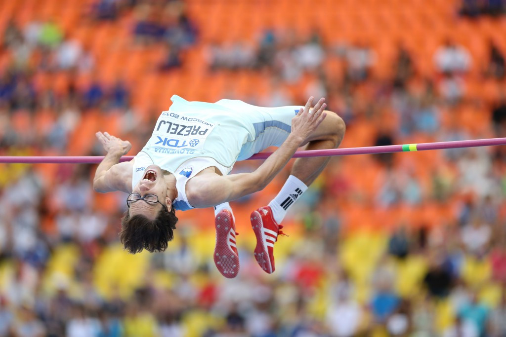 Slovenian high jumper Rožle Prezelj, the head of the IAAF Athletes' Commission, has replaced Frankie Fredericks on the Taskforce ©Getty Images