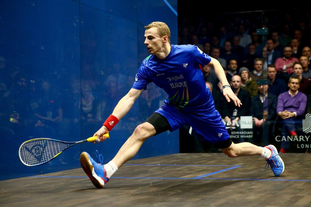 Matthew eases into PSA Canary Wharf Classic quarter-finals