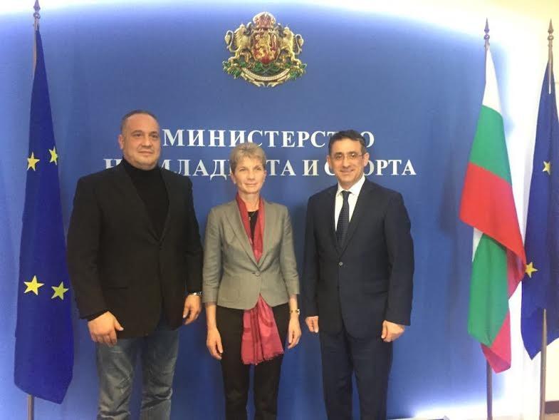ETU President visits Sofia to oversee Under-21 European Taekwondo Championships preparations