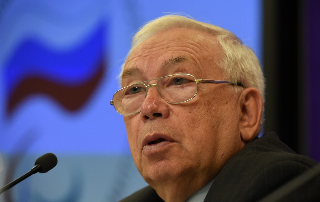 Russian Paralympic Committee President Vladimir Lukin confirmed the news of   Anna Antseliovich's departure ©Getty Images