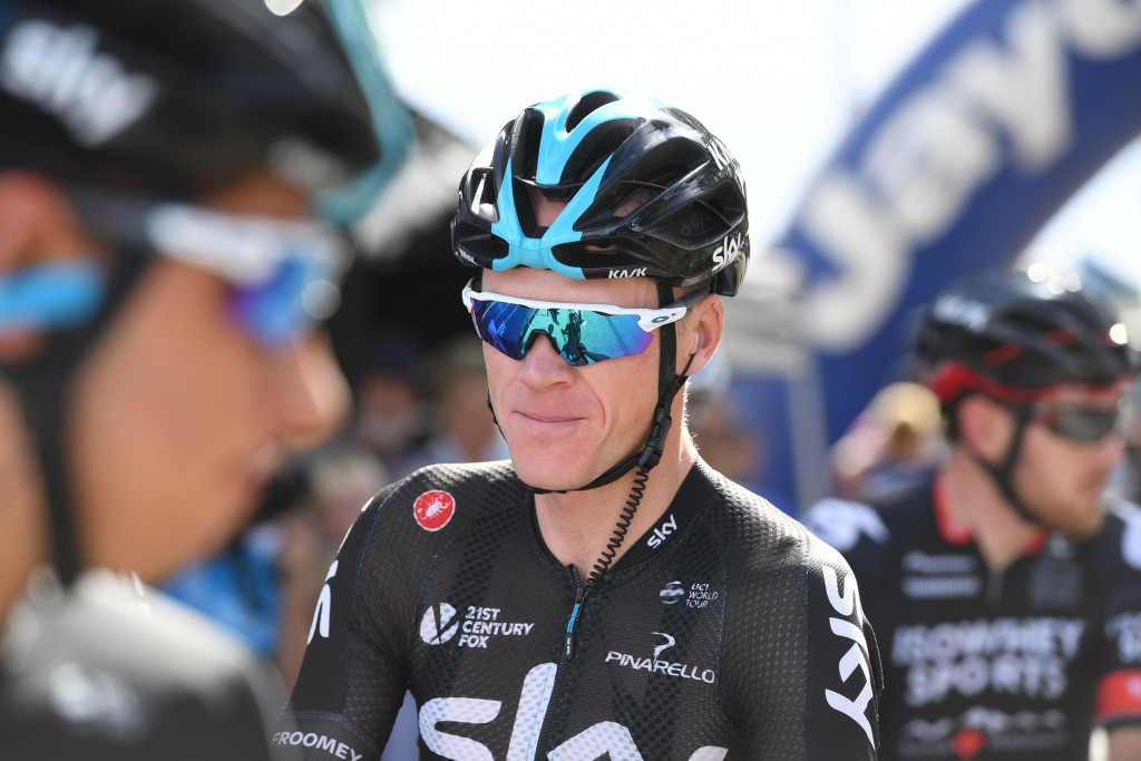 Froome does not offer support towards Team Sky boss Brailsford