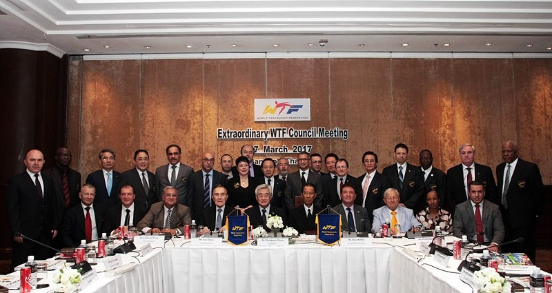 The World Taekwondo Federation announced host cities for five major events in Bangkok ©WTF