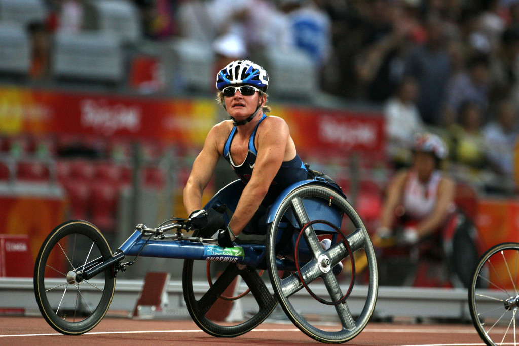 Cheri Blauwet won seven Paralympic medals as a wheelchair racer ©Getty Images