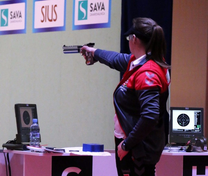 Hungary's Veronika Major secured the first gold medal of the European Championships ©ESC