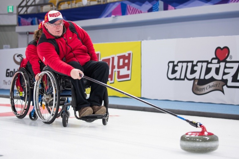 Russia first to qualify for play-offs at World Wheelchair Curling Championships